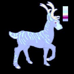 Ice Deer Design