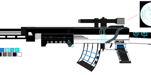ARKC-10 Blaster Rifle( Custom41)Ref.
