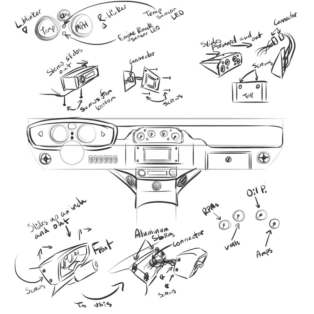 Car dash concept 1