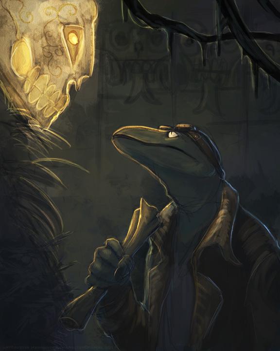Lizardfolk Adventurer 2