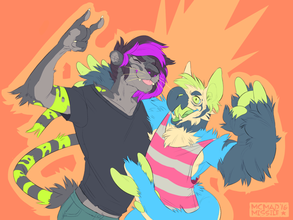 rock on [commission]