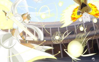 Hero Fox Vs. Vulpisdeum Phox