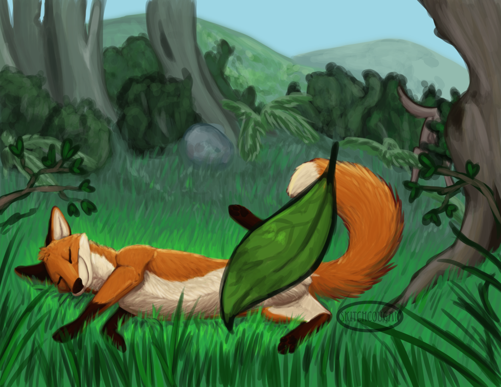 Most recent image: After a Romp in the Meadow (clean)