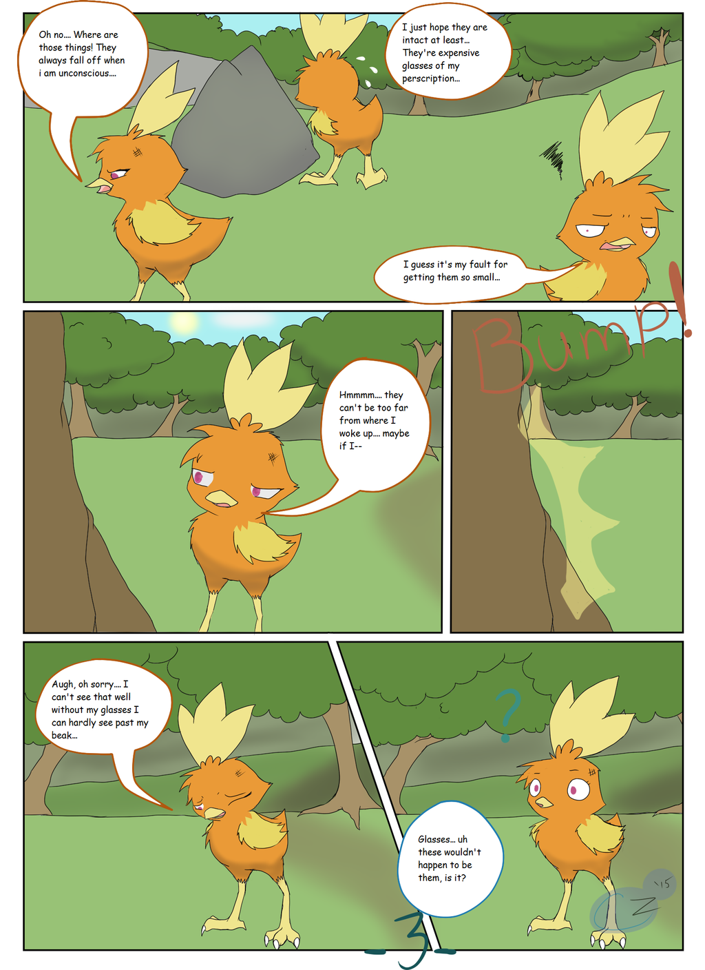 The Adventures of Team Rosewood: Ch. 1 - Pg. 3
