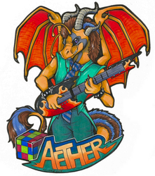 Aether Badge (MCFC 2016)
