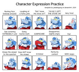 Somewhat Specific Character Expression Meme