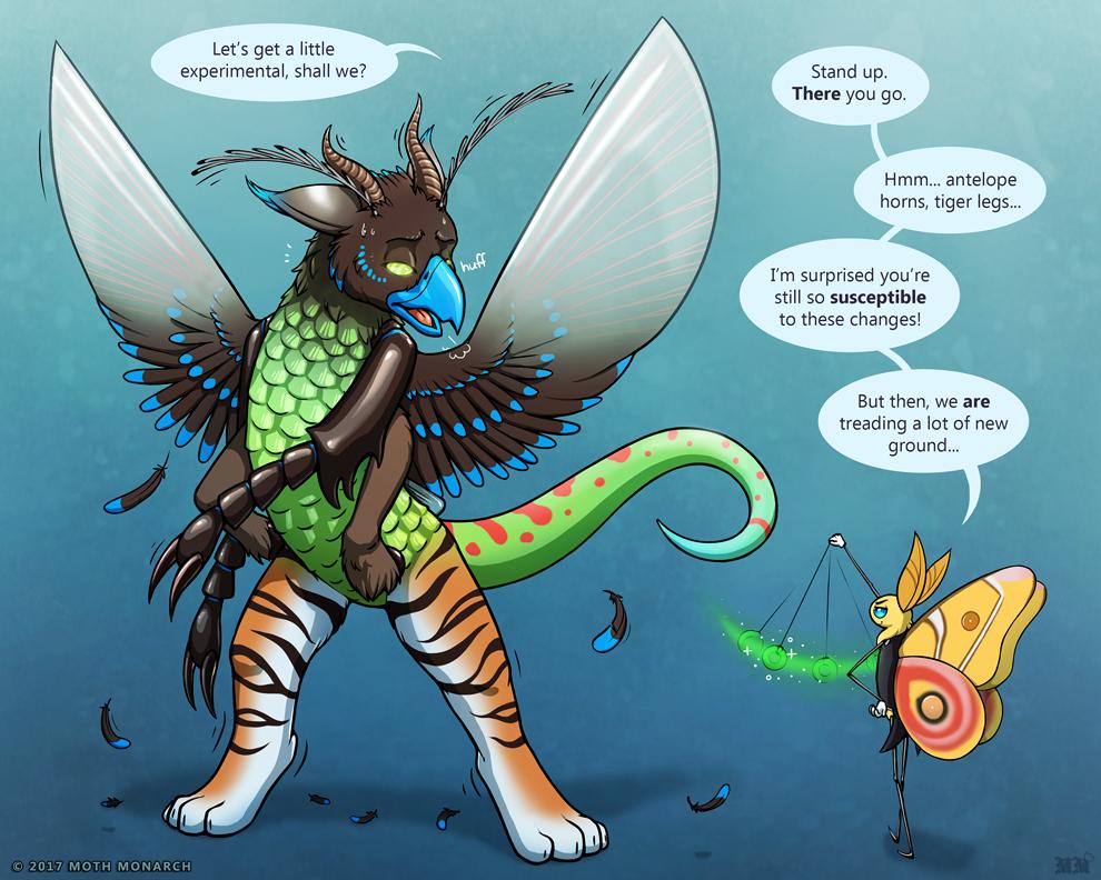 Mordecai's Chimera Experiment