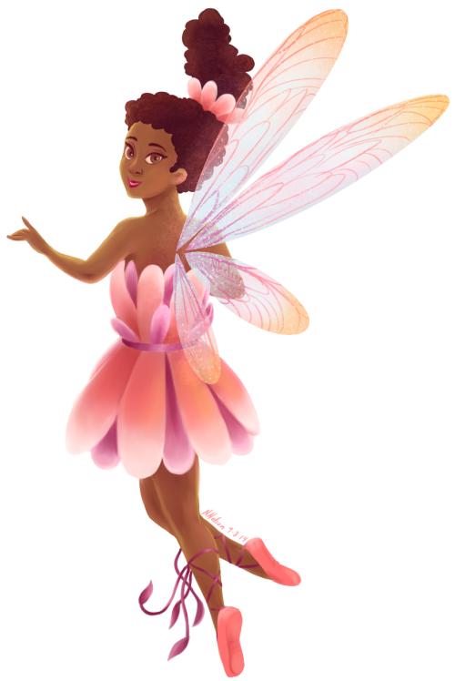 Flower Fairy in Pink