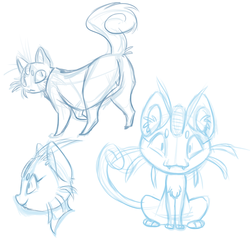 Meowth designs