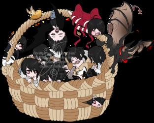 A basket of cute!