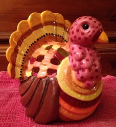 Ceramic Turkey (painted)