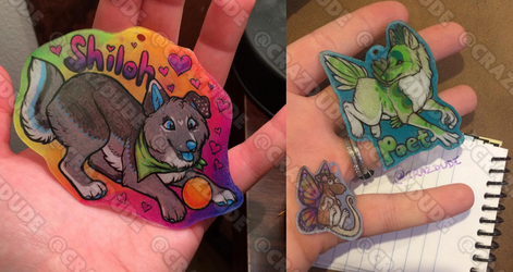 Shrinky Dink commissions