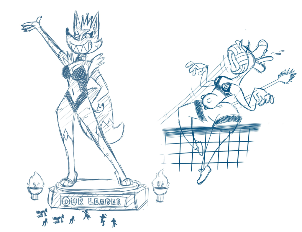 Toon's and Rush's Drawpile close up