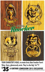 FC '15: KNOCKER BADGES!!