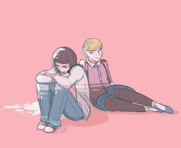 (Life Is Strange Spoilers!) BTW THANX BUT WERE NOT FRIENDS