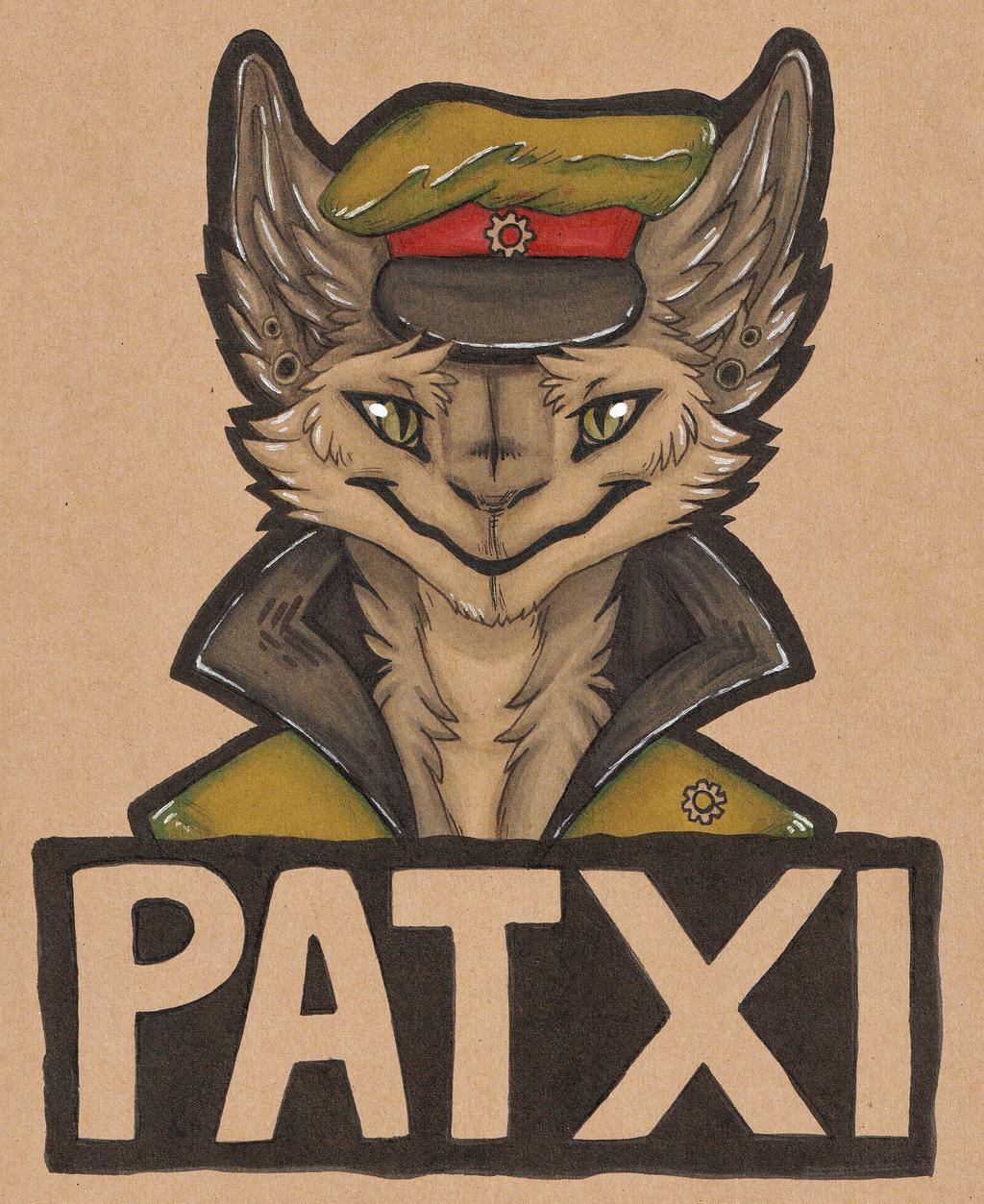 Most recent image: Patxi tonedpaper badge