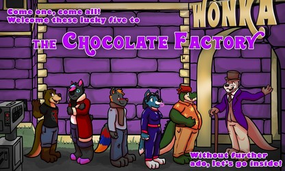 [YCH COMIC] The Chocolate Factory - Page 1