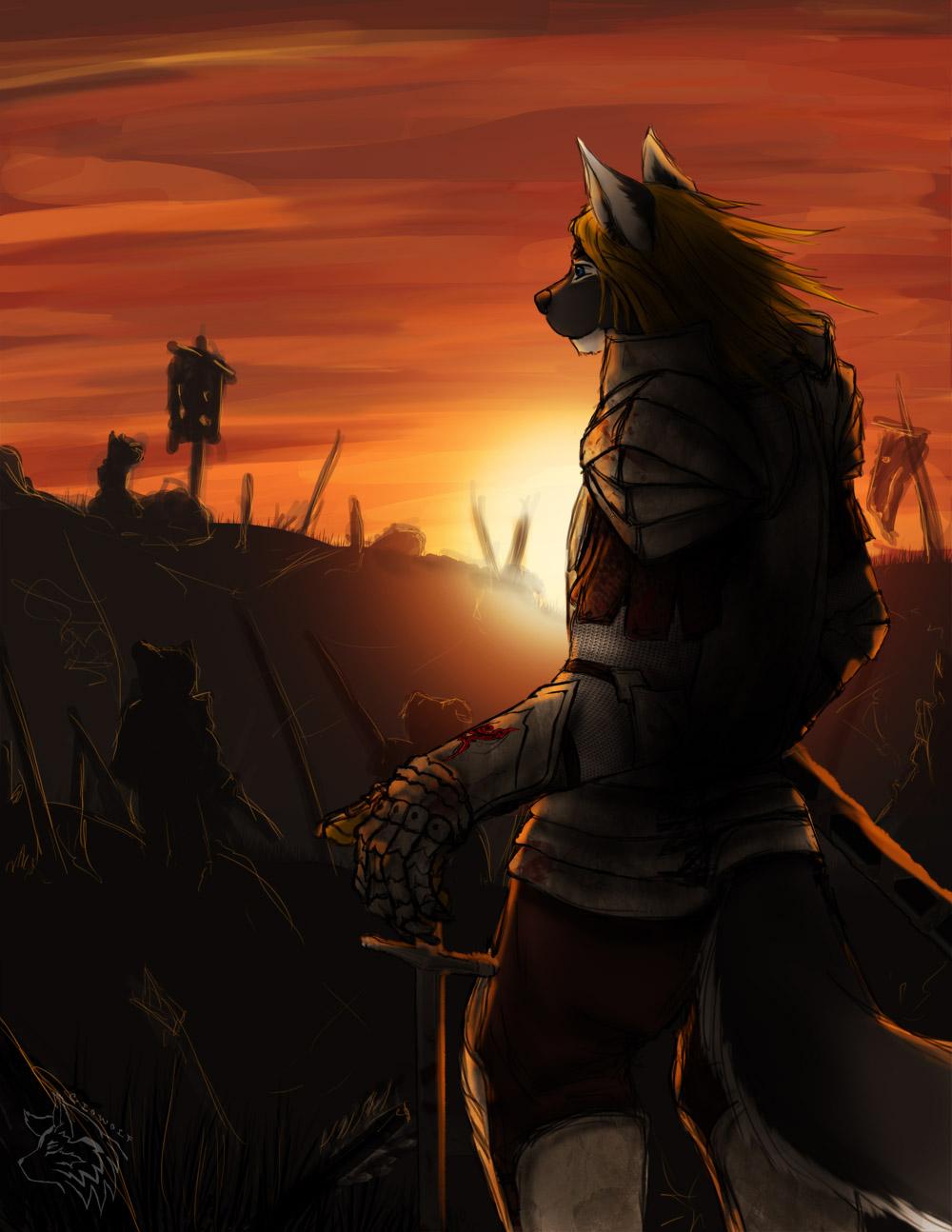 [CM-Nox Salune] Lone Warrior
