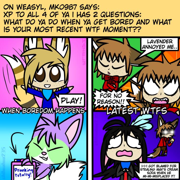 Ask OCs: Response 2