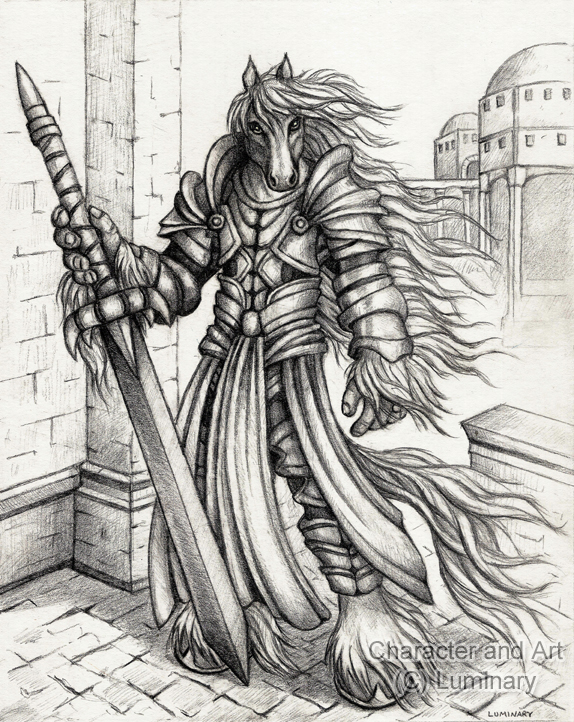 Prince of Eqqur Sketch - 2011