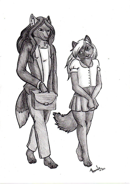 Com: Lune and Faolan
