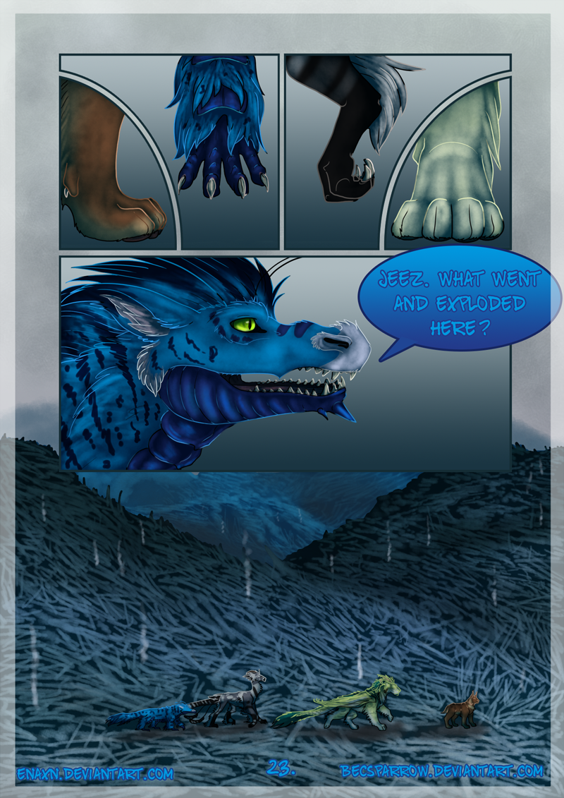 The Last Aysse: Page 23