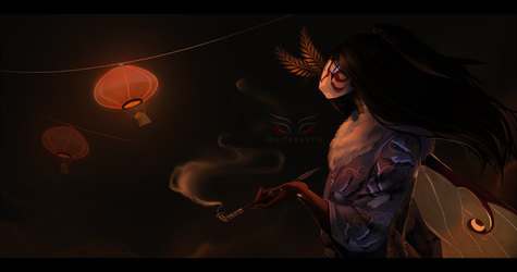 Blade Under Mask: Smoke
