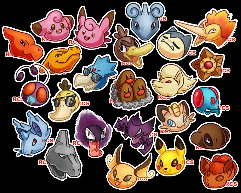 Pokemon Blue Icons