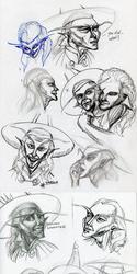 Sketchercize #3: A Sarcasm of Burwors!