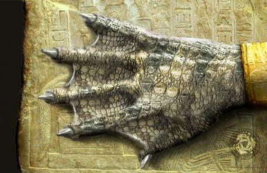Sobek / Transformation / Hand / Photomanipulation