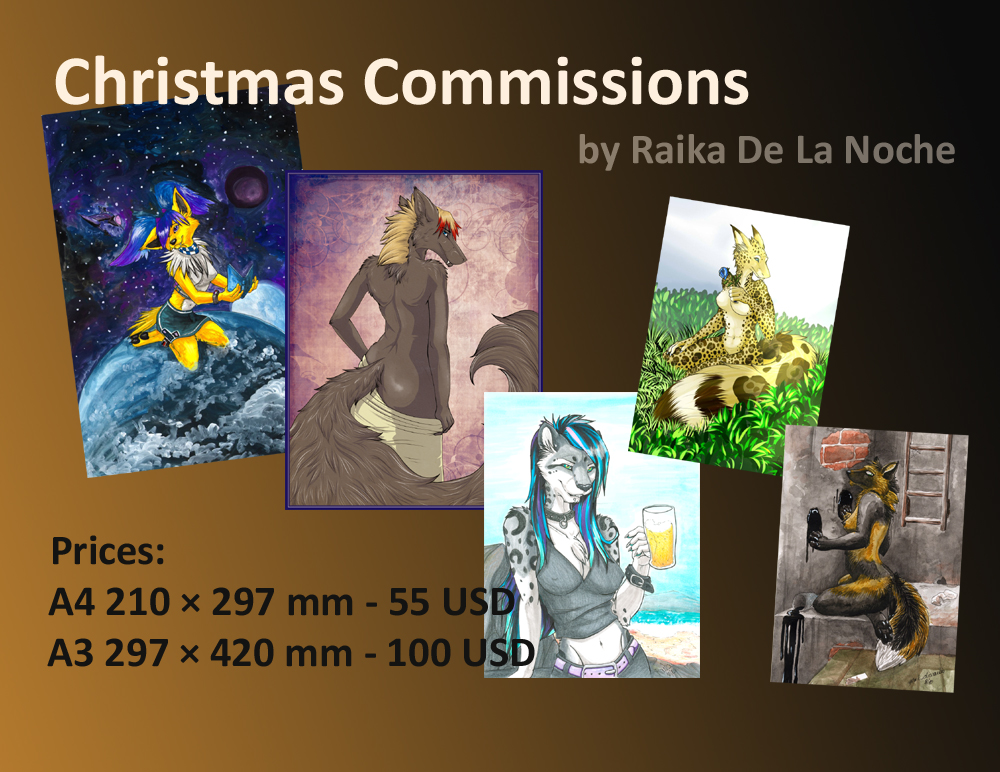 Commissions for Christmas!
