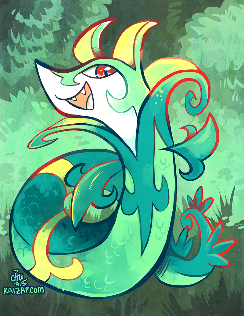 Cheerful Serperior