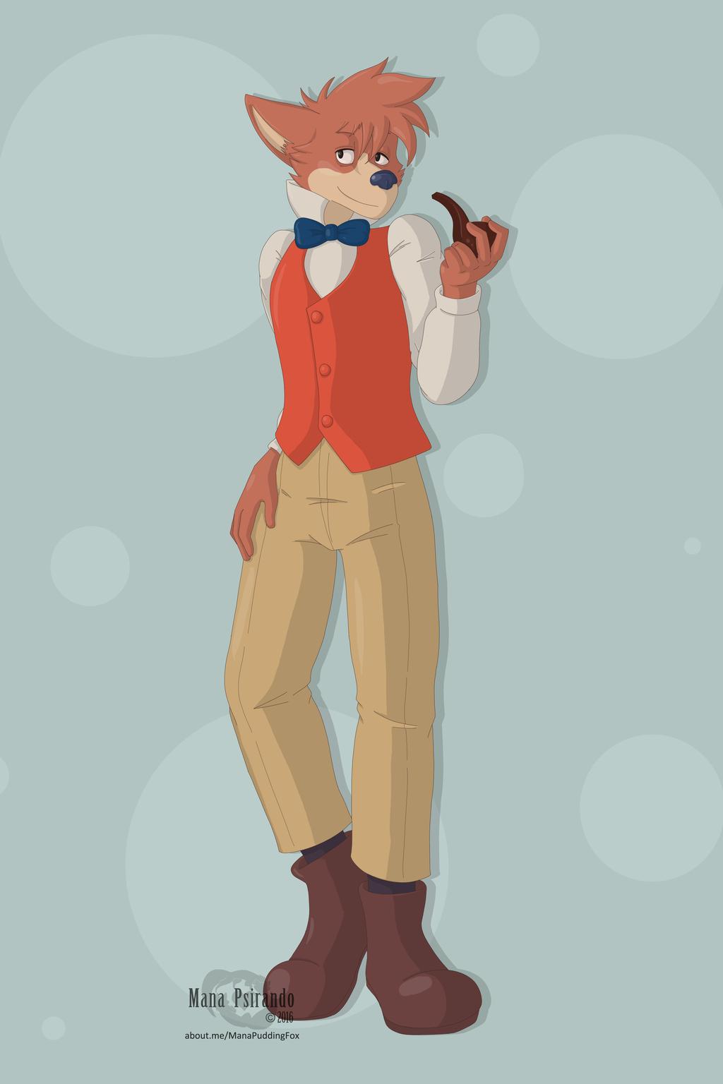 Sherlock Hound [commission]