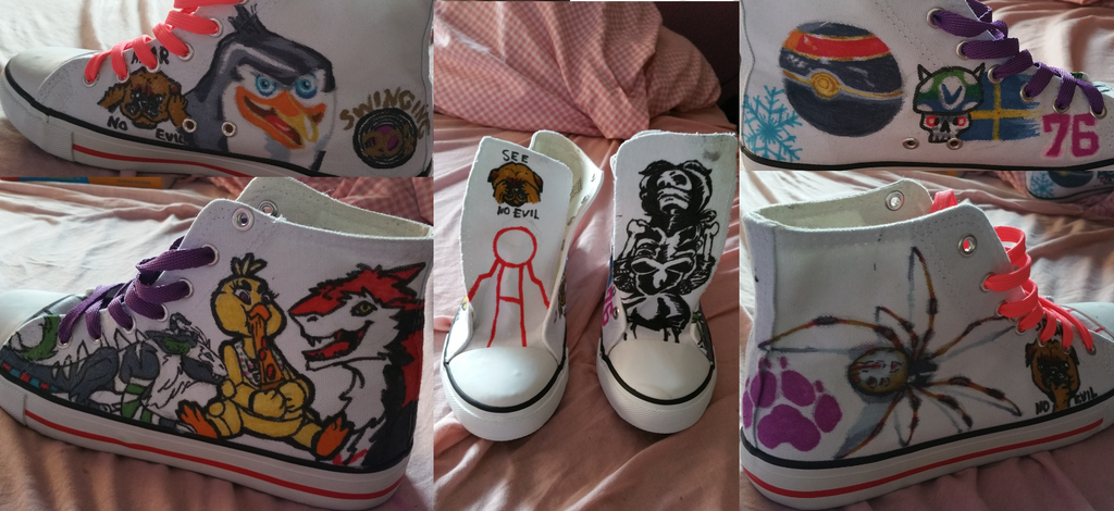 Painted my Shoes! :D