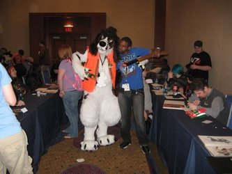 FWA 2012 - Day 3 - Winston and Diggyroo 2