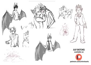 July Sketches - PAT