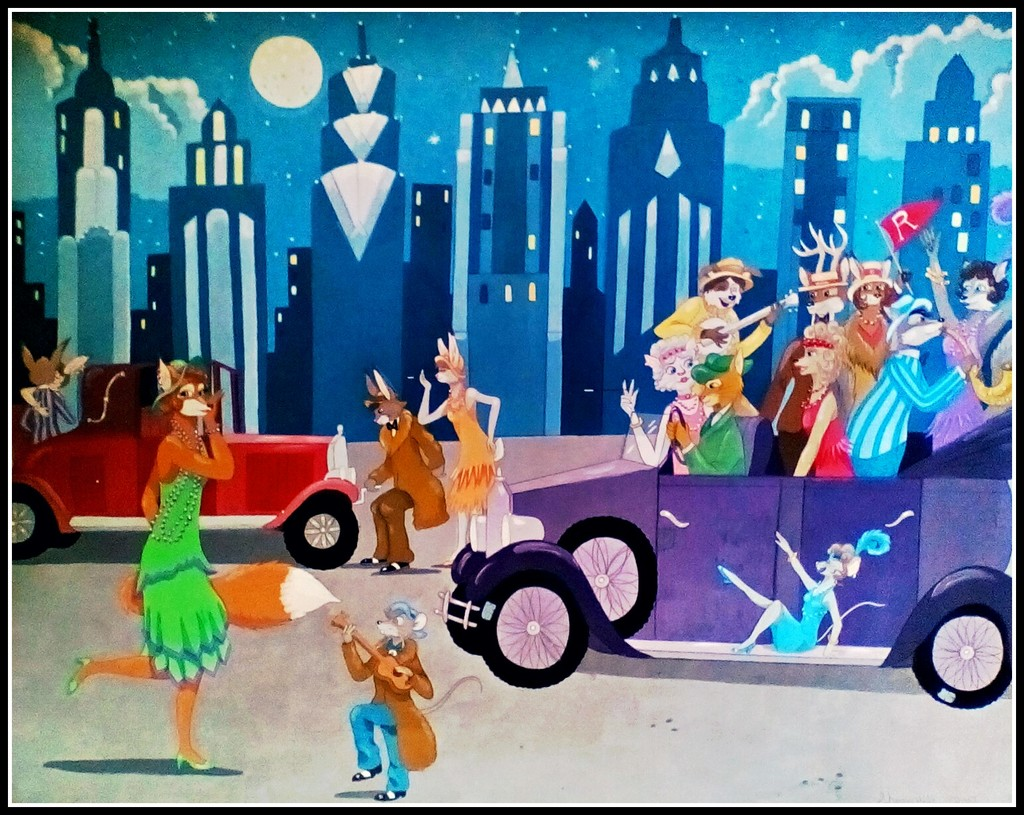 Foxy Flapper's Flivver Party