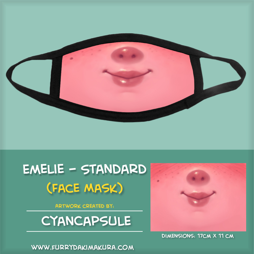 Emelie Face Mask by Cyancapsule