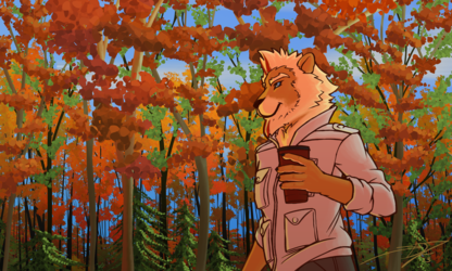 Autumn Forest Stroll