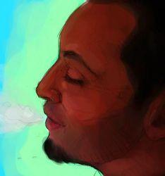 Portrait Doodle of MDM
