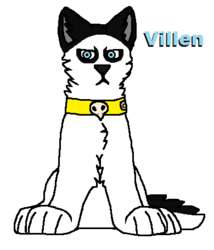 Villen the Husky (OC)