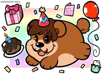 Birthday Bear~!