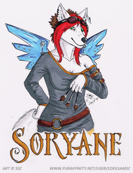 Soryane Steampunk Badge