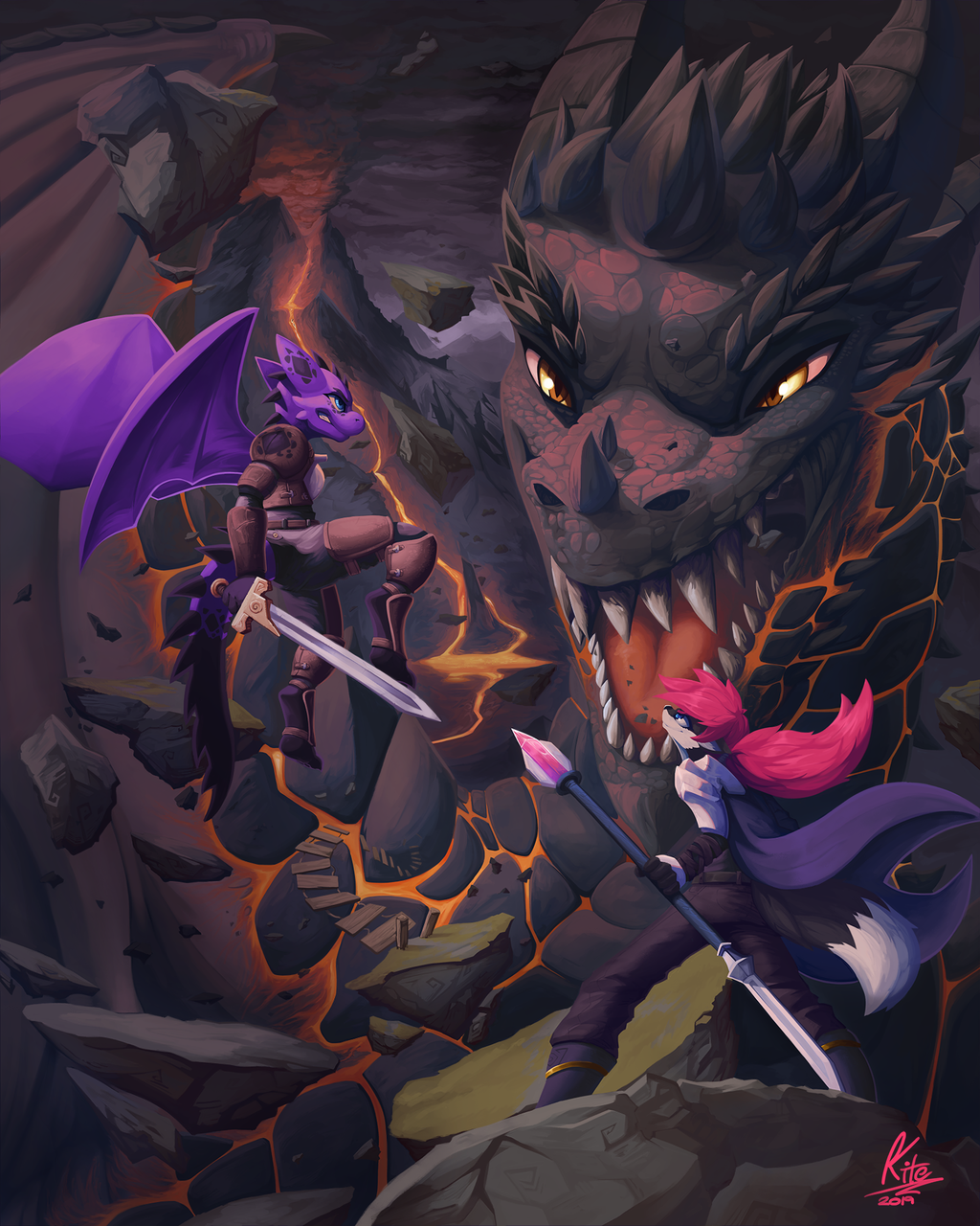 Most recent image: Draconic Rumble