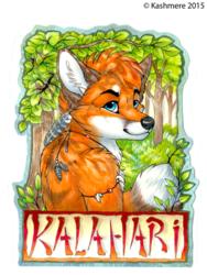 Kalahari Badge