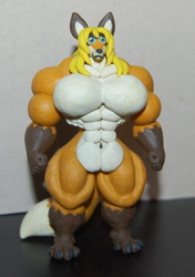 Muscle Clay Fox ^^