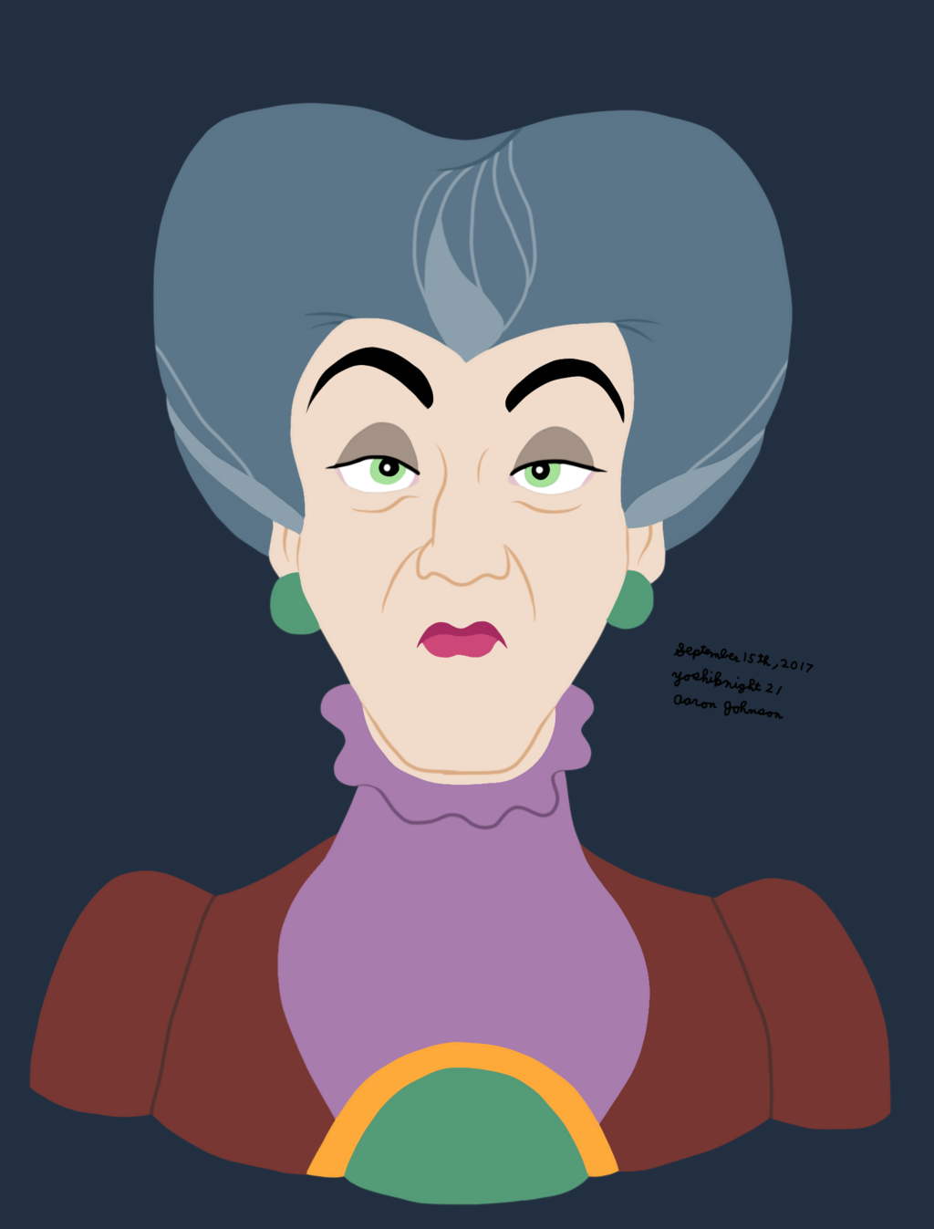 Most recent image: Lady Tremaine (Disney)