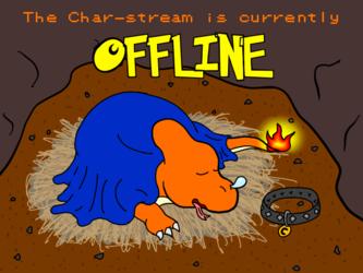 My Custom Livestream Offline Graphic
