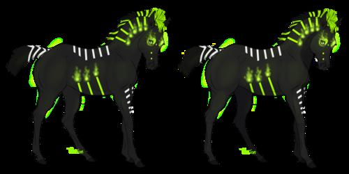 Login (Glow in the Dark)(Sold)