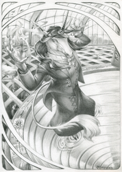 :Commission: Mistress of Portals